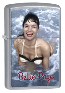 Bettie Page Lighter